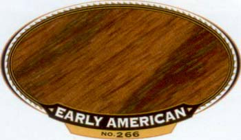 VARATHANE 12862 211806 EARLY AMERICAN 266 OIL STAIN SIZE:1/2 PINT PACK:4 PCS.