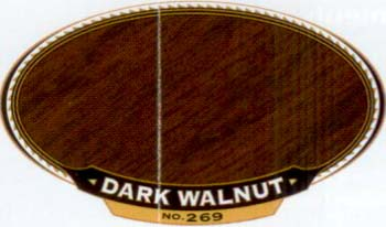 VARATHANE 12863 211807 DARK WALNUT 269 OIL STAIN SIZE:1/2 PINT PACK:4 PCS.
