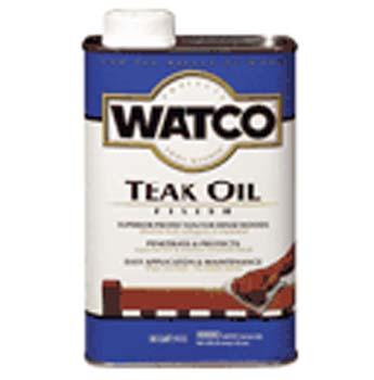 WATCO 67131 TEAK OIL FINISH INTERIOR/EXTERIOR SIZE:1 GALLON.