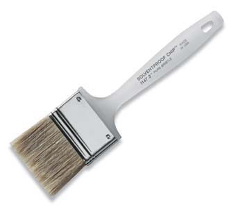 "WOOSTER 1147 SOLVENT PROOF CHIP BRUSH SIZE:4"" PACK:6 PCS."