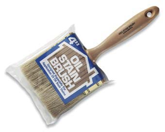 "WOOSTER 4052 OIL STAIN BRUSH SIZE:4"" PACK:6 PCS."