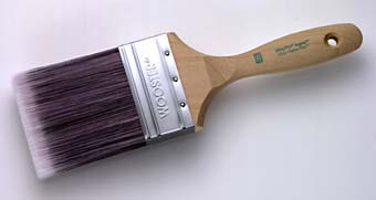 """WOOSTER 4156 ULTRA/PRO JAGUAR EXTRA FIRM WALL BRUSH SIZE:3.5"""" PACK:6 PCS."""
