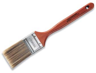 "WOOSTER J4102 SUPER PRO BADGER FLAT SASH PAINT BRUSH SIZE:3"" PACK:6 PCS."