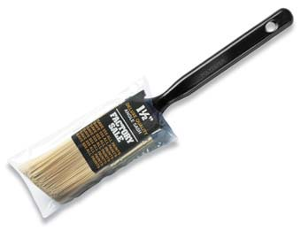 "WOOSTER P3970 FACTORY SALE POLYESTER ANGLE SASH PAINT BRUSH SIZE:1.5"" PACK:12 PCS."