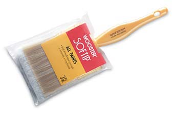 "WOOSTER Q3108 SOFTIP NYLON POLY FLAT PAINT BRUSH SIZE:4"" PACK:6 PCS."
