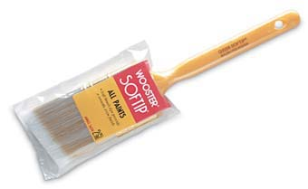 "WOOSTER Q3208 SOFTIP NYLON POLY ANGLE SASH PAINT BRUSH SIZE:2.5"" PAC:12 PCS."