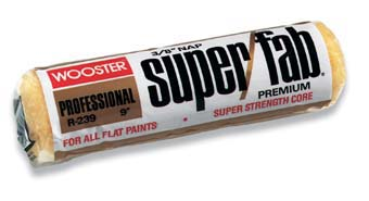 """WOOSTER R239 SUPER FAB COVER SIZE:4"""" NAP:3/8"""" PACK:12 PCS."""