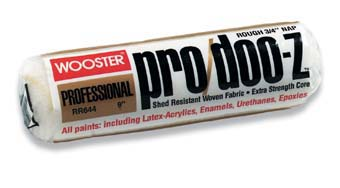 """WOOSTER RR644 PRO DOO-Z COVER SIZE:9"""" NAP:3/4"""" PACK:12 PCS."""