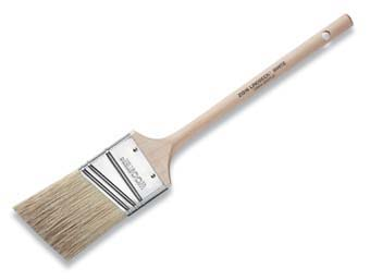 "WOOSTER Z1216 LINDBECK WHITE THIN ANGLE SASH PAINT BRUSH SIZE:2.5"" PACK:6 PCS."