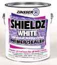 ZINSSER 02501 WATER BASE SHIELDZ WHITE SIZE:1 GALLON.